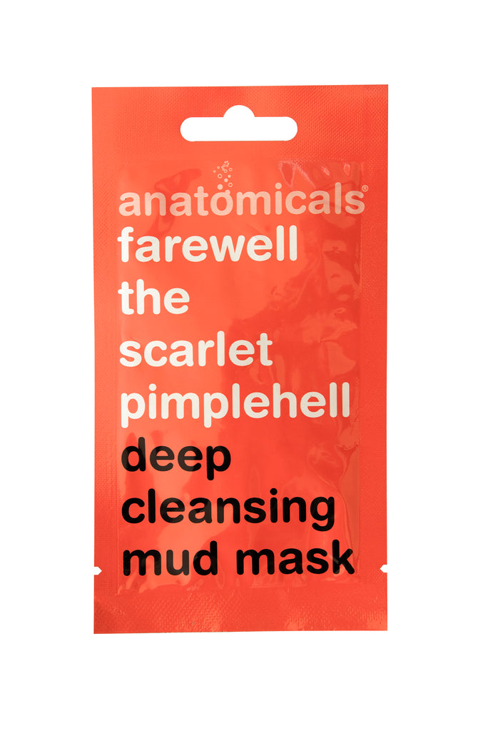Anatomicals Farewell Scarlet Pimplehell Face Mask