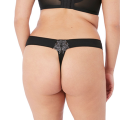 Elomi Eugenie Thong Black