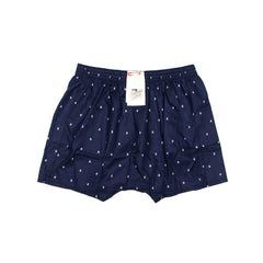 Navy Surfer Boxer/Sleep Shorts
