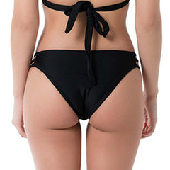 Cheeky strappy bikini bottom