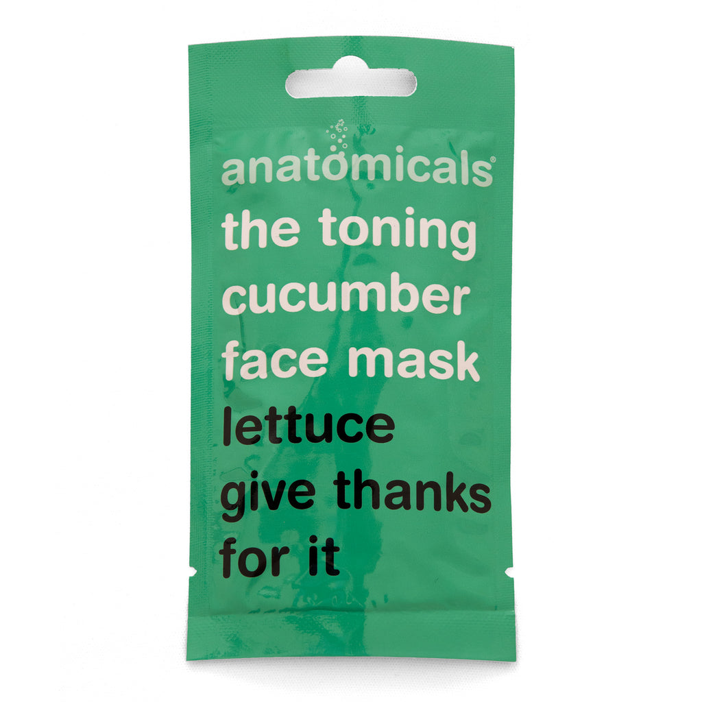 Anatomicals Lettuce give thanks Face Mask
