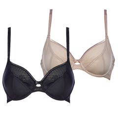 2 Pack - Body make up lace underwire bra