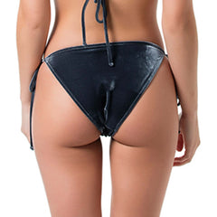 String velvet bottom