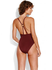Seafolly Active Ring Front Maillot