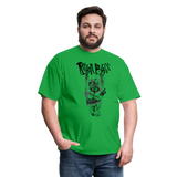 RB2020TEE - HORNSUP BLACK - bright green