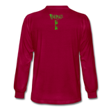 2020RBTEE - GREEN13THHOUR Long Sleeve T-Shirt - dark red