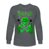 2020RBTEE - GREEN13THHOUR Long Sleeve T-Shirt - charcoal