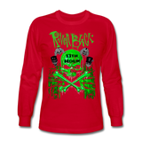 2020RBTEE - GREEN13THHOUR Long Sleeve T-Shirt - red