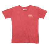 Mens Good Vibes Ship Rusty Red Tee