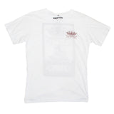Mens Good Vibes Ship White Tee