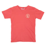 Mens Anchor Patch Terakota Tee
