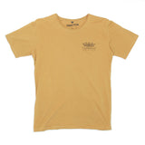 Mens Good Vibes Ship Mustard Tee