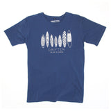 Mens Board Guru Dark Blue Tee