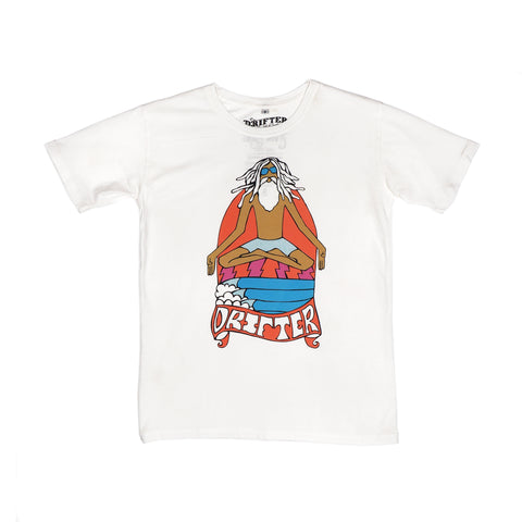 BOYS T-SHIRT GURUWATU COLOR ANDYDAVIS TEA STAIN