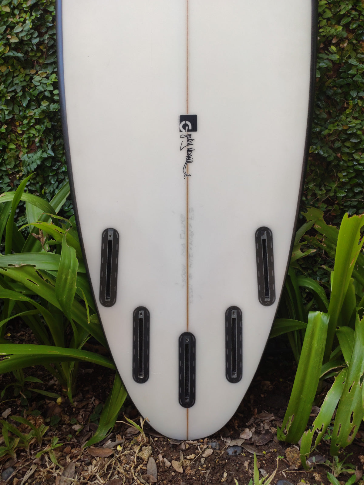 "Gary Mcneill Concepts | Entity Model 5'7"" 5-Fin #13557"