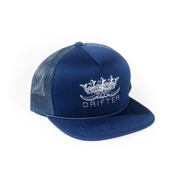 DRIFTER GOOD VIBES TRUCKER HAT