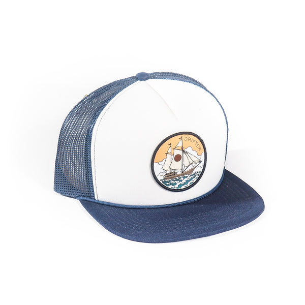 DRIFTER PIRATE SHIP TRUCKER HAT