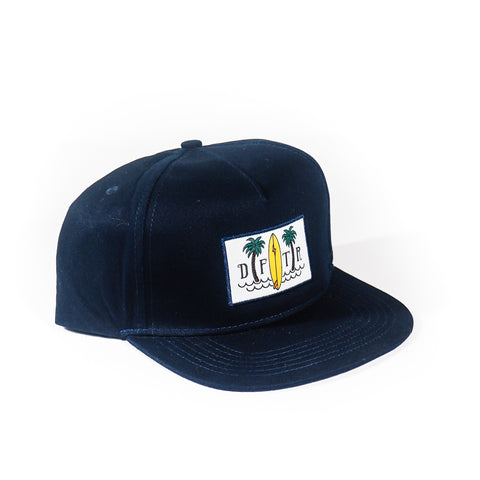 DRIFTER BOARD PALM SNAPBACK HAT