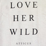 "LOVE HER WILD ""ATTICUS"" HOLE BLACK"