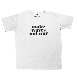 Women's Make Waves Not War Tee