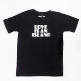LOVE IS A ISLAND BLACK