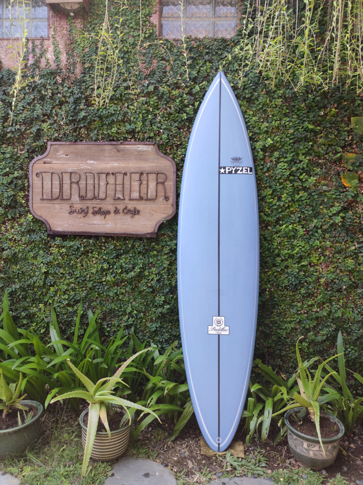 "Pyzel Surfboards | Padillac Model 7'6"" Quad #17560"