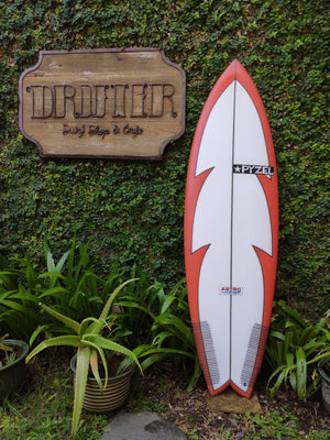 "Pyzel Surfboards | Astro Pop Model 5'10"" 5-Fin #18344"