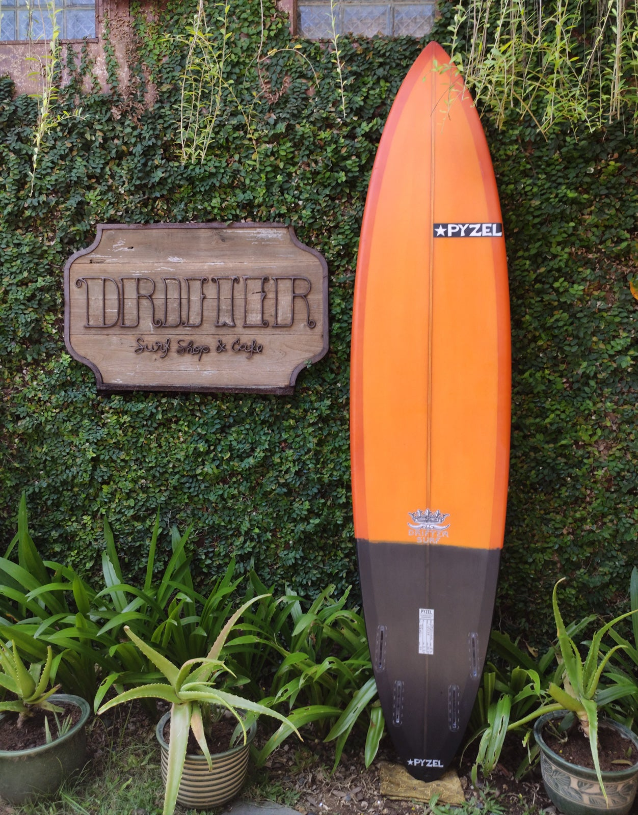 "Pyzel Surfboards | Padillac Model 8'0"" Quad #18538"