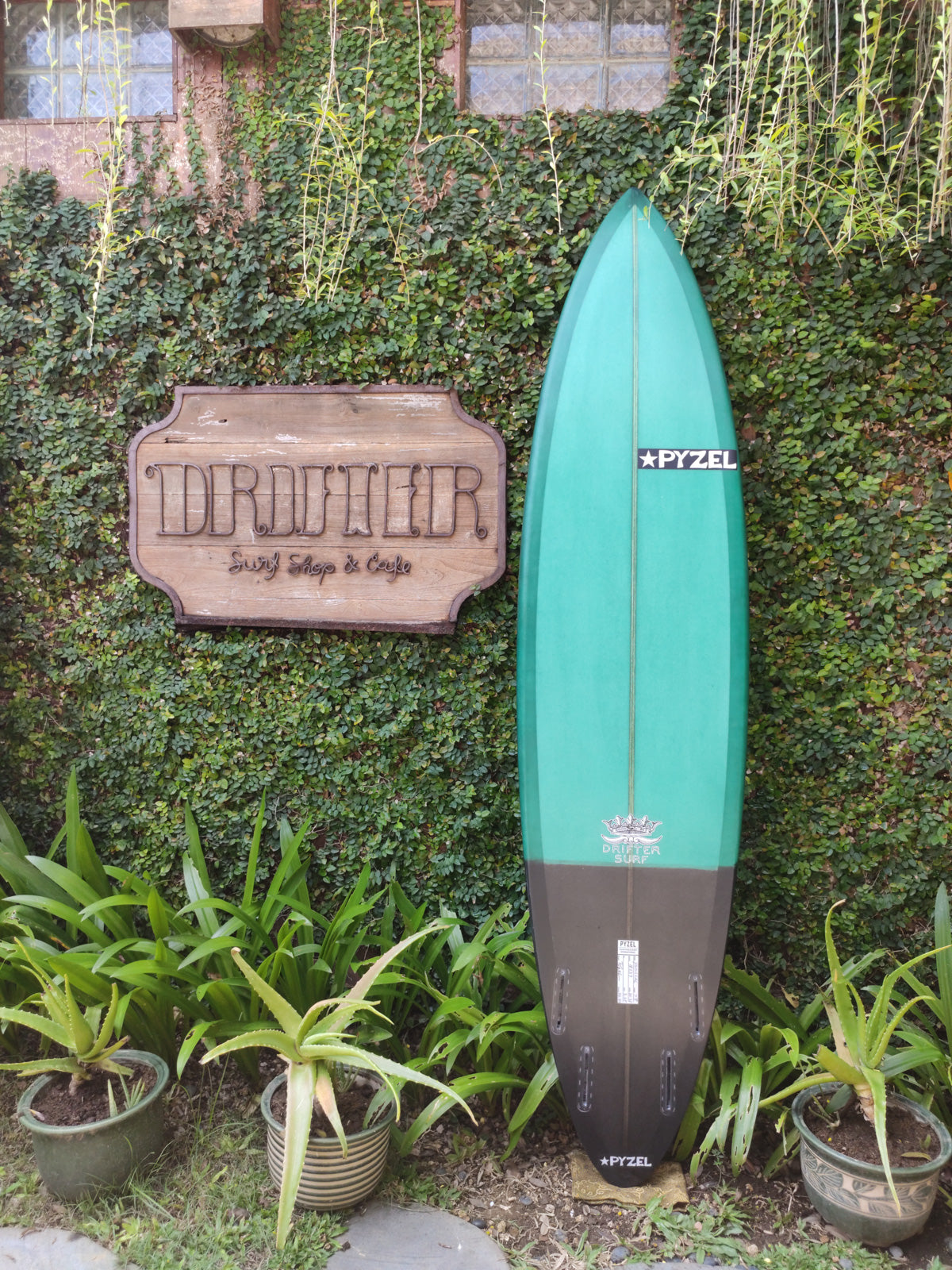 "Pyzel Surfboards | Padillac Model 7'8"" Quad #18637"