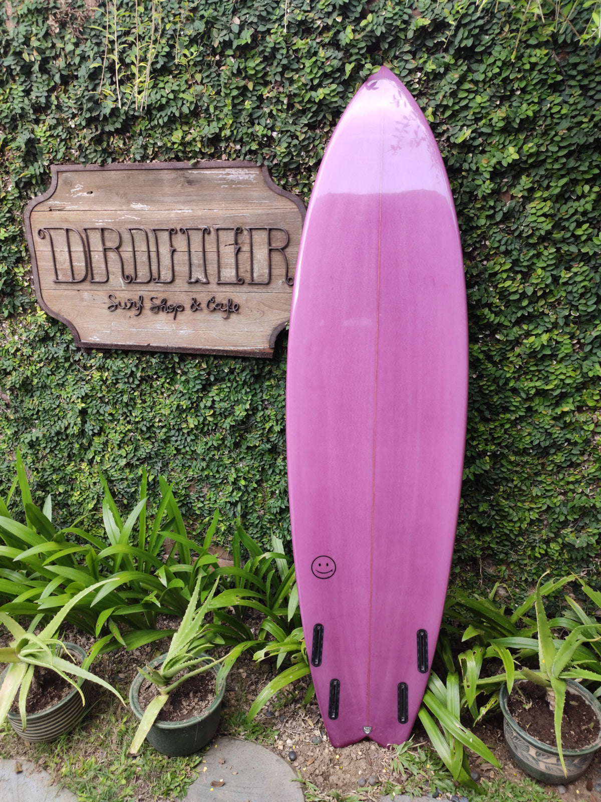 "Rob Machado Surfboards | Seaside & Beyond Model 7'0"" Quad"