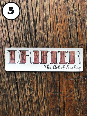 DRIFTER STICKERS