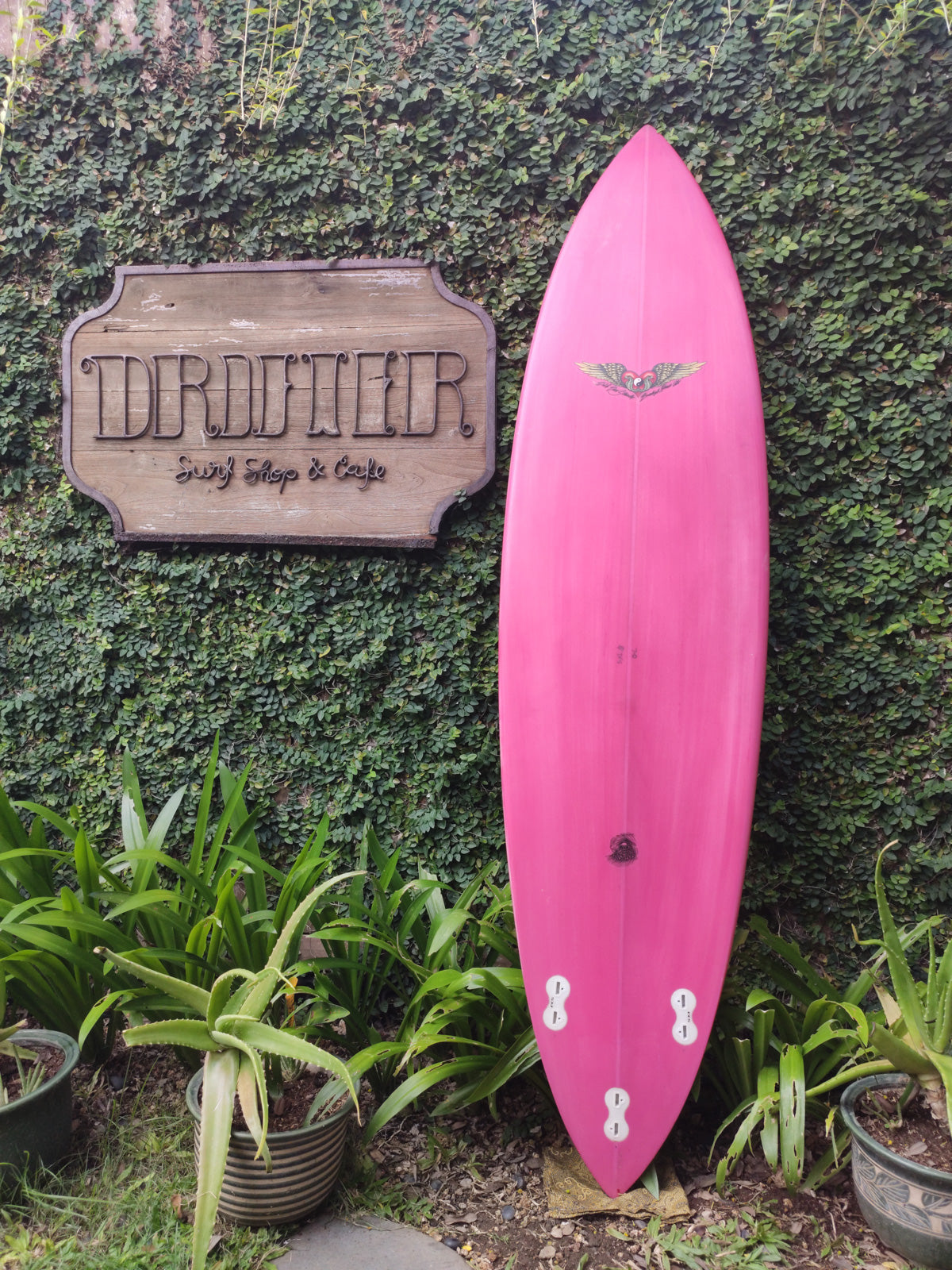 "Van Straalen Surfboards | Pintail Model 7'0"" Thruster #SB011"