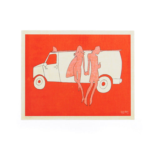 Van People - Andy Davis Print