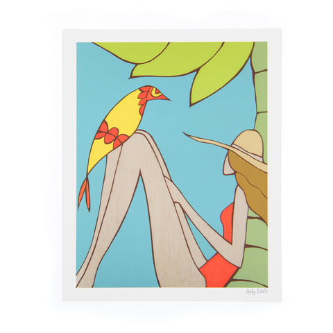 Fine Feathered Friend - Andy Davis Print