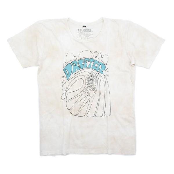 Mens Andy Davis Surf Monk Tee - Tea Stain