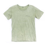 Mens Crystal Vibes Olive Acid Tee