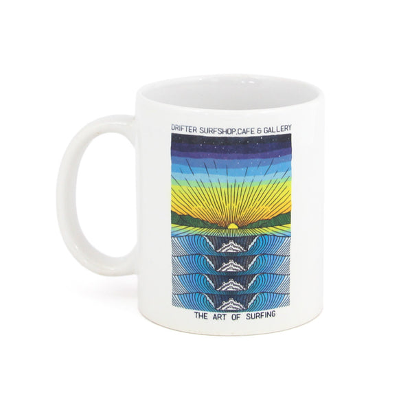 Rolling Waves Coffee Mug