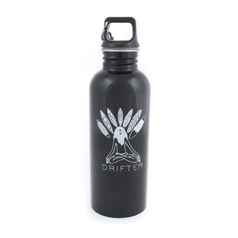Guru Water Bottle Black