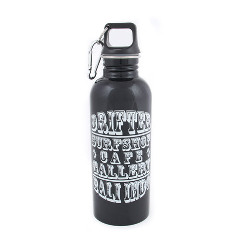 Drifter Water Bottle Black