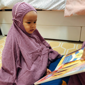 Kids Zahra Prayer Robe +