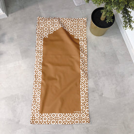 Gold travel prayer mat