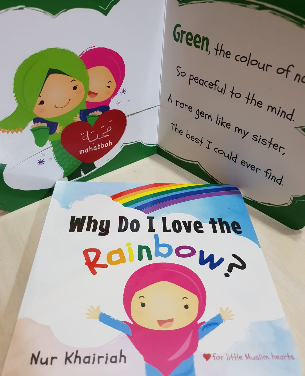 Why do I love the rainbow?