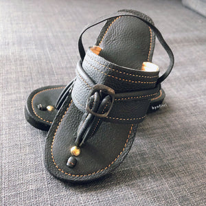 Kids Leather Capal
