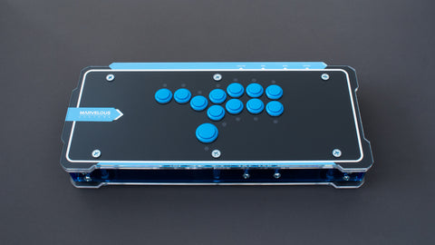 The C.E.O. - Fully Assembled Arcade Stick (All-Buttons)