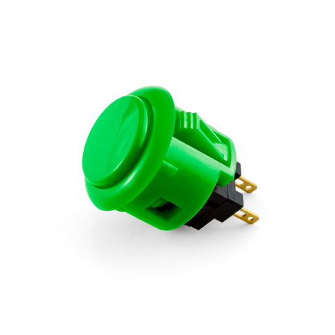 OBSF 24mm Snap-In Pushbutton (Green)