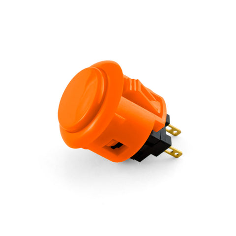 OBSF 24mm Snap-In Pushbutton (Orange)