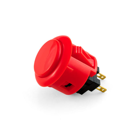 OBSF 24mm Snap-In Pushbutton (Red)