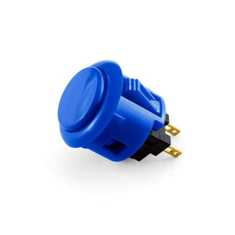 OBSF 24mm Snap-In Pushbutton (Royal Blue)
