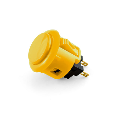OBSF 24mm Snap-In Pushbutton (Yellow)