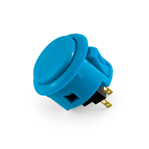 OBSF 30mm Snap-In Pushbutton (Blue)